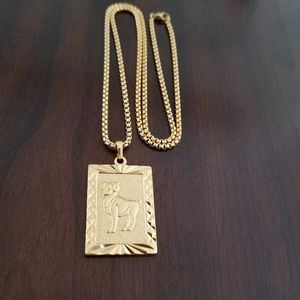 Other - Aries Zodiac Sign 18K Gold Filled Necklace